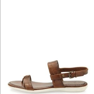 Frye leather brown sandals